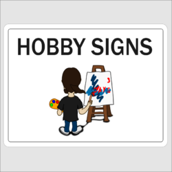 Hobby Signs
