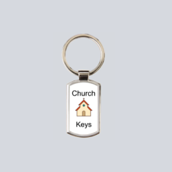 Church Key Ring